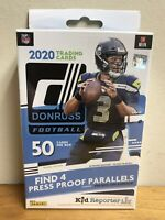 2020 DONRUSS NFL FOOTBALL HANGER BOX HERBERT TUA HURTS BURROW / RC WALMART BLUE