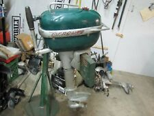 1949-52 KIEKHAEFER MERCURY  MARK KF5 SUPER 5 HP TILLER OUTBOARD - RUNS EXCELLENT