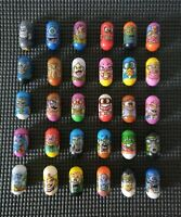 Bundle of 43 Mighty Beanz 31x  Ja-Ru 2004 Jumping Beans + 12 x 2010 Series Ghost