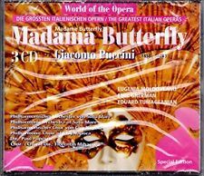PUCCINI Madame Butterfly [3 cd]