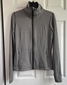 Lole Stripe jacket Activewear Zip Up medium