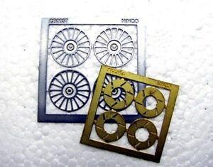 Ninco Enjoliveurs et Disques Tooka (T17) Slot Prorace 80733 Modélisme