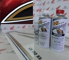 Honda CB 750 Four K6 Paint Kit Candy Antares Red +Tank Stripes Decal Kit SOHC