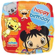 Ni Hao Kai Lan Happy Birthday foil mylar decorations party