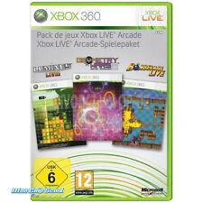 XBOX 360: XBOX Live Arcade Giochi pacchetto-NUOVO + OVP