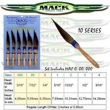 MACK Sword PINSTRIPE/PINSTRIPING BRUSH Set 10-0,00,000