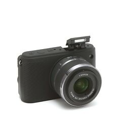 Camera silicone cover for Nikon 1 S1+ Tow LCD Screen Protectors