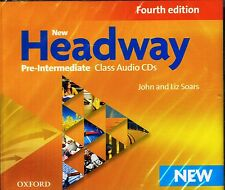 OXFORD New Headway Pre-Intermediate Fourth Edition Class Audio CDs @BRAND NEW@