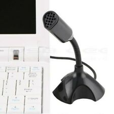 1pc Mini USB Studio Speech Vocal Microphone MIC with Holder Cable For PC Laptop