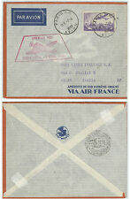 FRANCE 1937 FIRST FLIGHT COVER FROM PARIS TO TURIN