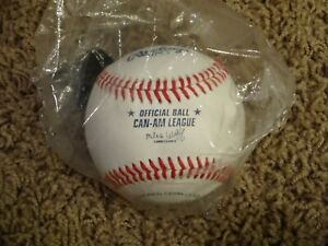 HARD TO FIND Rawlings Official CAN-AM LEAGUE Baseball (1 NEW Minor League Ball)