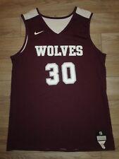 Desert Mountain Wolves High School #30 Basketball Team Nike Jersey SM S