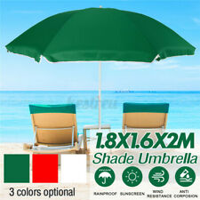 6.6FT Outdoor Patio Umbrella Market Beach Camping Yard Garden Parasol Sun