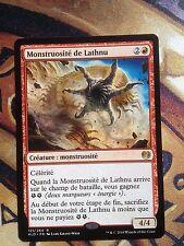 Monstruosité Of Lathnu French Version - MTG Magic (NM)
