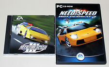 2 pc jeux Bundle-Need for speed III hot pursuit & NFS Hot pursuit II-DVD