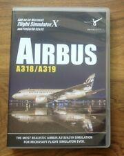 Airbus A318/A319 (Pc DVD) Add on para PC GRATIS UK FRANQUEO Flight Simulator X.