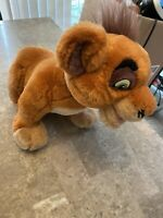 "Disney Lion King Simba's Pride 19"" Kovu Talking Plush Stuffed Animal Thinkway"