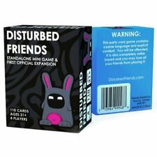 Disturbed Friends Main Set Base Game + First Official Expansion Packs