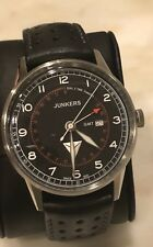 Junkers Men's 6946-2 G38 42mm Pilot's Watch with GMT Function NEW