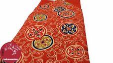 Abbigliamento etnico dell'Asia orientale rossi 100% Seta