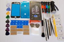 iPhone 7 Nero Kit di Riparazione Vetro, Schermo Frontale, Telaio Installato