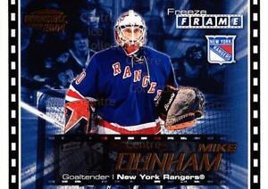 2003-04 Pacific Invincible Freeze Frame #15 Mike Dunham