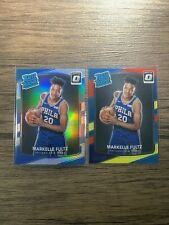Markelle fultz Optic 2017 rated rookie red & yellow, and Silver holo out the box