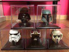 star wars  helmet, casque collection altaya Lot De 5 Casques