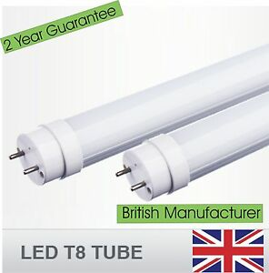 LED T8 Tube 2,3,4,5,6,8ft - Fluorescent Replacement