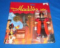 Disney's  Action Figure ALADDIN Jafar Mattel 4 Piece Set MIP Sealed