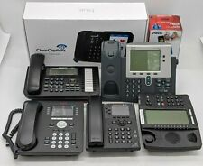 IP Phones and Accessories Cisco/Avaya/Ect. (See Description) Lot of 7 -NR4007