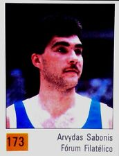 SABONIS  #173 PANINI BASKET ACB 90 ( SPANISH EDITION ) STICKER