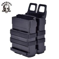 Tactical Gen3 5.56 .223 Double Magazine Pouch Fast Mag Holster For MOLLE System