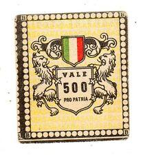 CALCIO Figurina Stadio ed .BEA 1948-49  jolly  nazionale vale 500 pro  patria