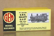 More details for gem tt gauge kit built gw gwr 0-4-2 collett class 1400 tank locomotive kit