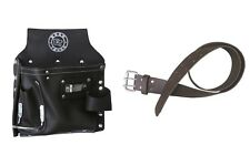 Newly Designed Electricians Nail & Tool Pouch Bag + Leather Waist Tool Belt