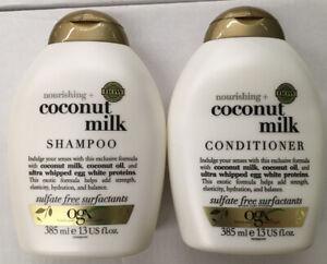 OGX Organix Nourishing COCONUT MILK Shampoo + Conditioner  (385ml ) NOURISIHING