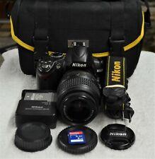 Nikon D D3000 10.2MP Digital SLR Camera -  with AF-S ( DX-VR ) 18-55 mm Lens