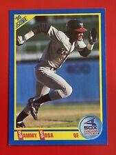 1990 Score #558 Sammy Sosa  Rookie Card
