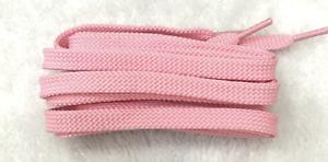 FLAT SHOE LACES approx 120cm - Light Pink