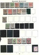 NYASALAND 1891-1935 Mint & used collection on Imperial - 98491