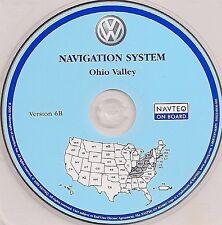 04 2005 VW VOLKSWAGEN TOUAREG NAVIGATION NAV DISC CD 6 OHIO VALLEY KY OH WV 6B