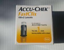 ACCU-CHEK FastClix 100+2 Lancets  exp 2023