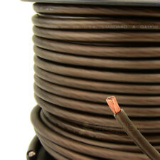 New 5 ft 4 Gauge 4G AWG Black Ground Cable AMP Car Audio Wire