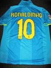 Authentic Ronaldinho Barcelona Jersey Anniversary 2007 - 2008 Shirt Camiseta L