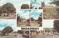 Postcard - Broadway - 5 Views