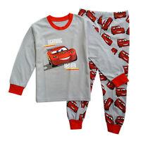 Kids Toddler Boys Lightning McQueen Tops Pants Outfits Sleepwear Pyjamas Set