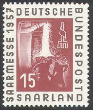 SAAR 1957 INDUSTRIA Fair/FERRO FONDERIA/ACCIAIERIA/Business/LAVORATORI 1 V (n42060)