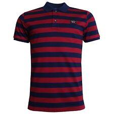 Paul&Shark Men's Striped Polo Casual Shirts & Tops