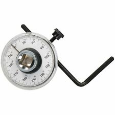 12 Drive Torque Angle Gauge For Torque Wrench Power Bars Cars Vans